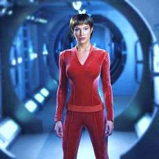 T'Pol on the new machine