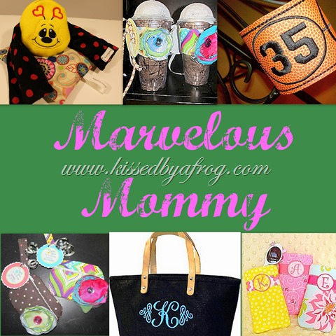 Kissed by a frog craft show booth application photo mommy gifts mother's day gifts