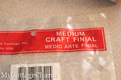 craft finials