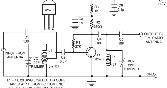 electronics and projects  fm booster