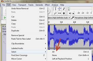 โปรแกรมอัดเสียงและตัดเสียงรบกวน