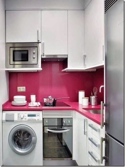 pink-small-kitchen