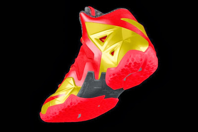 nike lebron 11 id allstar 2 12 gumbo Nike Unleashed Endless Possibilities with LeBron 11 Gumbo iD!