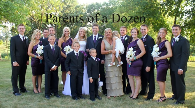 Parents of a Dozen's Story!