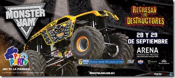 Monster jam mexico 2013