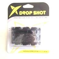 DROP SHOT El nuevo protector de goma, de 1,5 mm de espesor, se presenta ideal para proteger los roces y para amortiguar y minimizar los daños que puede sufrir la pala durante el desarrollo del juego