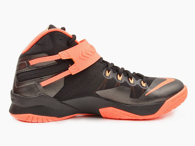 nike zoom soldier 8 gr black orange 2 05 Upcoming Nike Zoom LeBron Soldier 8   Bright Mango