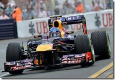 Vettel conquista la pole del gran premio d'Australia 2013