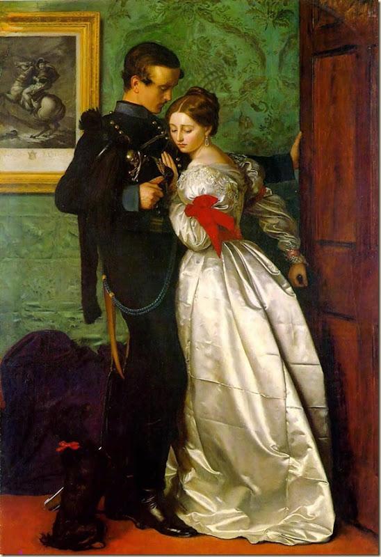 John Everett Millais, Couple d'amoureux