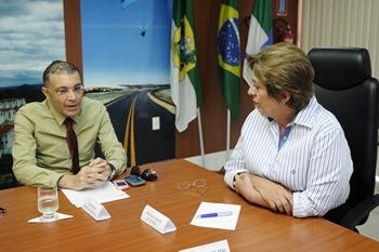 Reunião com o presidente da Câmara Municipal - Elisa Elsie (1)