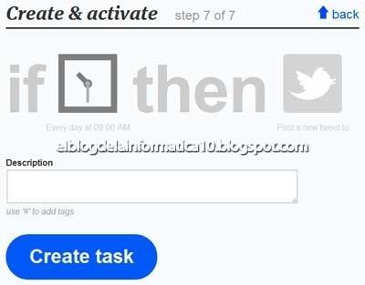 Programar tweets de forma periódica con ifttt