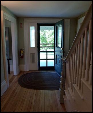 03f - The Farmhouse inside screen door