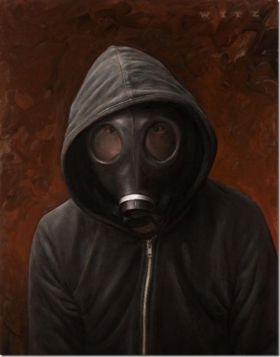 Dan-witz-Hoody Gas Mask