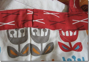 lapped top border