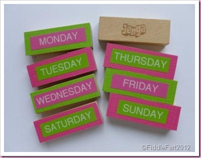 jenga fridge magnets crafts