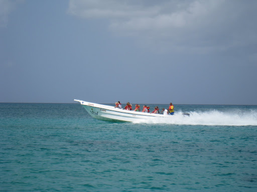 On the way to Saona Island