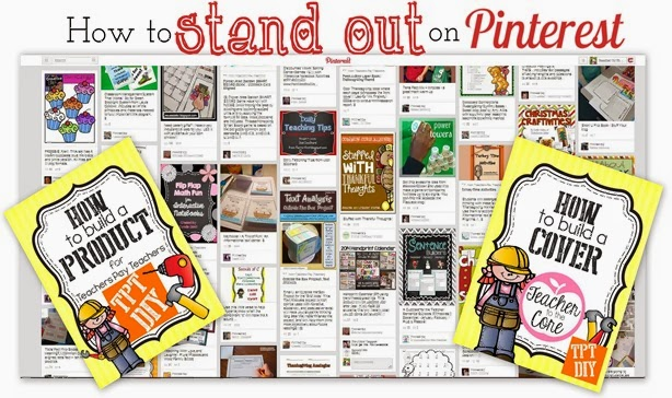 How to stand out on Pinterest- Your covers matter-Tutorial on Teacher to the Core