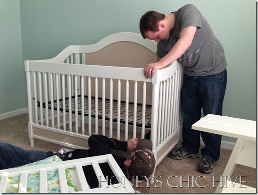 Gender Neutral Nursery Baby Crib