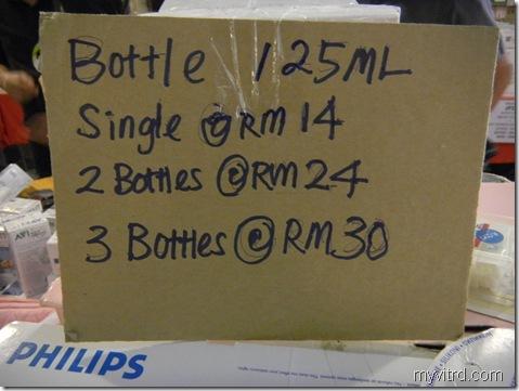 botol susu Avent 4