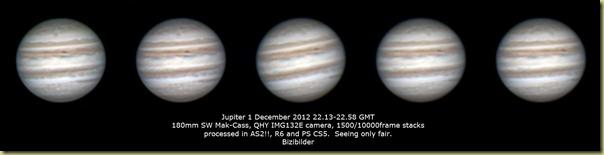 1 December 2012 Jupiter