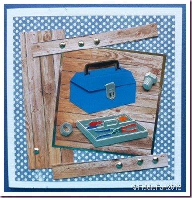 Mens Tool kit card