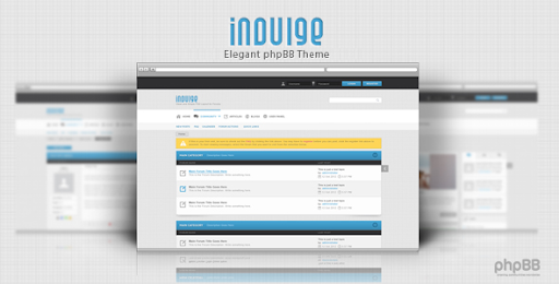 Premium and creative forum templates indulge clean phpbb theme indulge clean phpbb theme phpbb forums maxwellsz