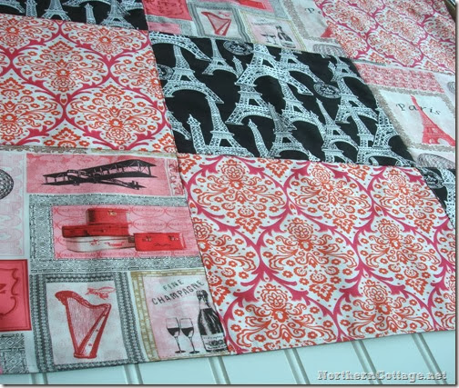 paris boutique quilt {NorthernCottage}