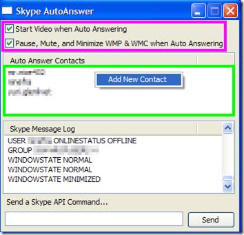 Skype AutoAnswer