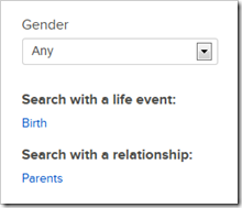Single-collection search form is customized for the collection