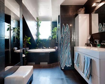 revestimiento-en-baños-negros