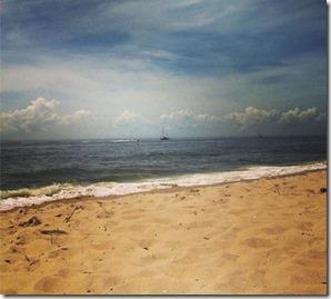 Praia de Cape May Point, Estados Unidos Autora Dri Lima