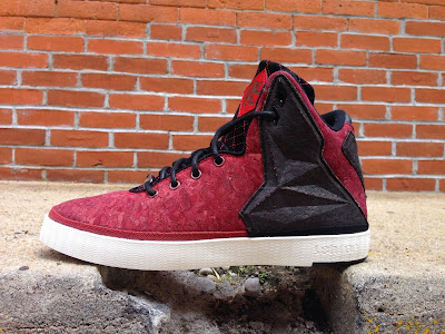 nike lebron 11 nsw sportswear lifestyle redcork 3 01 Closer Look at Nike LeBron XI NSW Lifestyle Red Cork