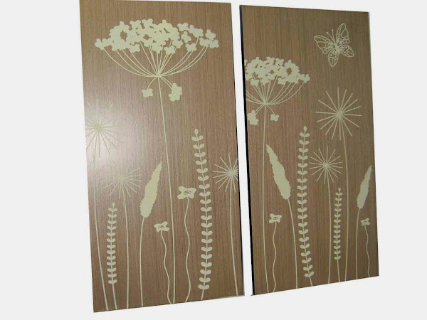 Wood Wall Art XT 4404 And XT 4405  Wood Wall Art