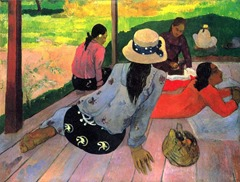 Paul Gauguin Midday Nap