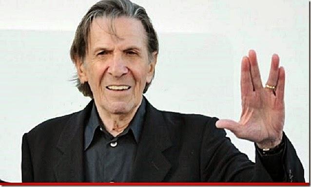 Spock-Leonard Nimoy. Live Long & Prosper
