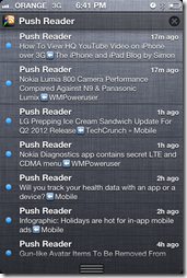 Push Reader - Notification Center