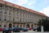 Cernin Palace - the 3rd largest palace in Prague