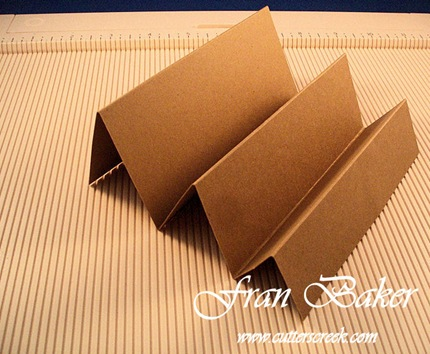 Preliminary Card Base Folded_Side View