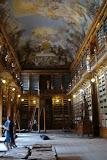 The Strahov Library, under renovation
