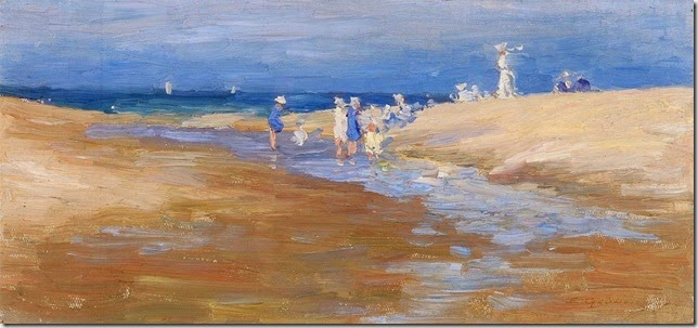 Gruner On the Beach 1912