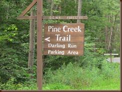 pine creek sign