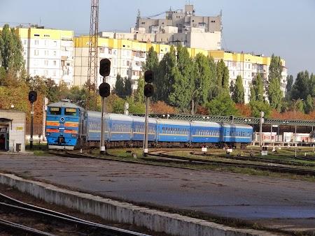 Tren in Moldova