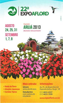 22ª Expo Aflord - Emoções sem limites na festa das flores de Arujá