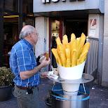 snackbar in Amsterdam, Noord Holland, Netherlands