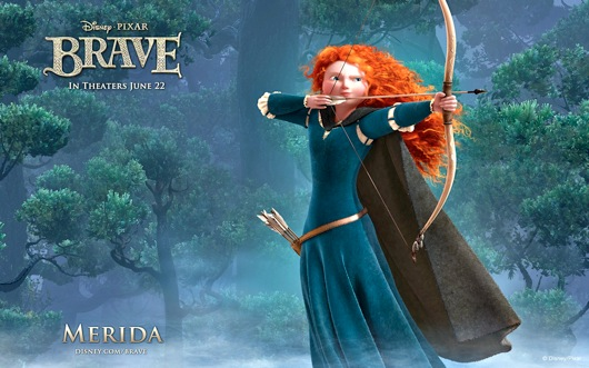 Brave wallpaper merida