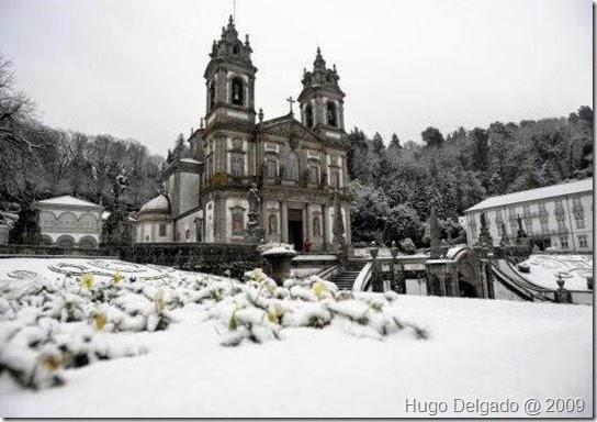 Bom Jesus com neve