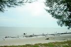 我们到的时候,海水还是很涨。。。