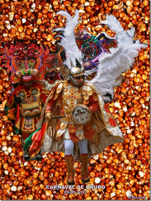 Carnaval de Oruro-Diablada Oruro-Angel-Fondo Quinua Real Phisankalla lavada-R.Miranda_Laquinua.blogspot.com