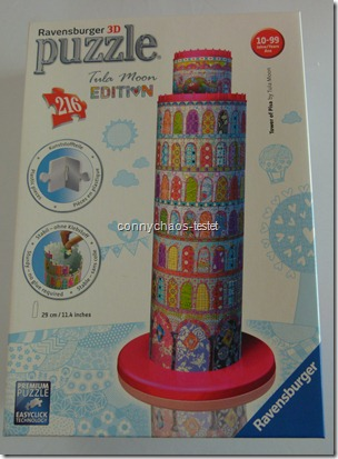 Ravensburger 3D Puzzle Tula Moon Turm von Pisa