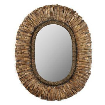havana oval mirror